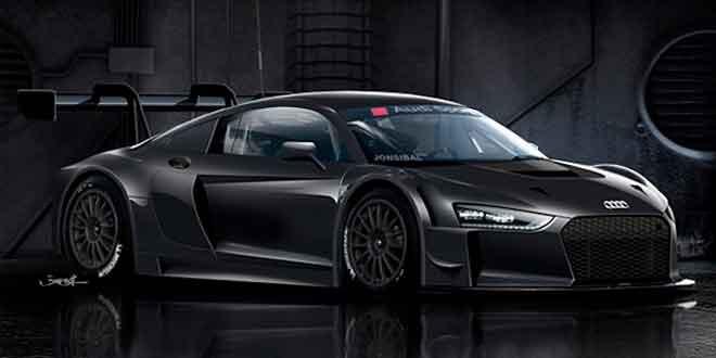 Рендер следующего поколения Audi R8 GT3