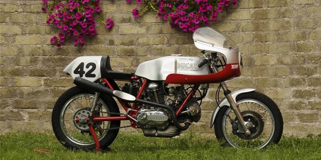 Продается отреставрированный Ducati 750SS Corsa 1973 года