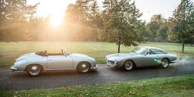 Старая школа: Ferrari 250 Luso и Porsche 356 Speedster