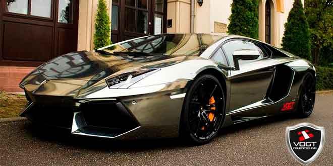 Хромированный Lamborghini Aventador от Vogt