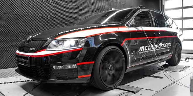 Супер-дизель Skoda Octavia Combi vRS TDI от Mcchip-DKR