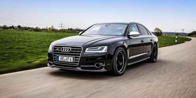 Супер-седан Audi S8 получил 675-сил от ABT Sportsline