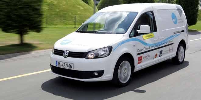 Начались испытания электрического фургона VW e-Caddy