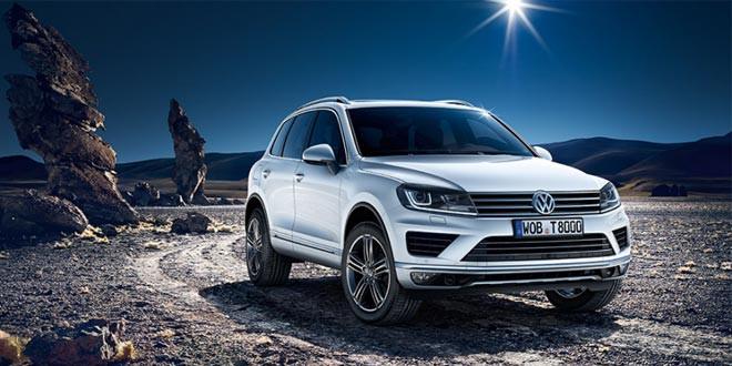 Вышел рестайлинговый Volkswagen Touareg