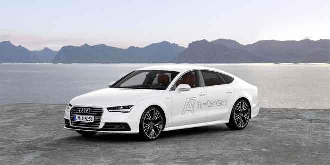 В США показали полноприводный водородомобиль Audi A7 h-tron