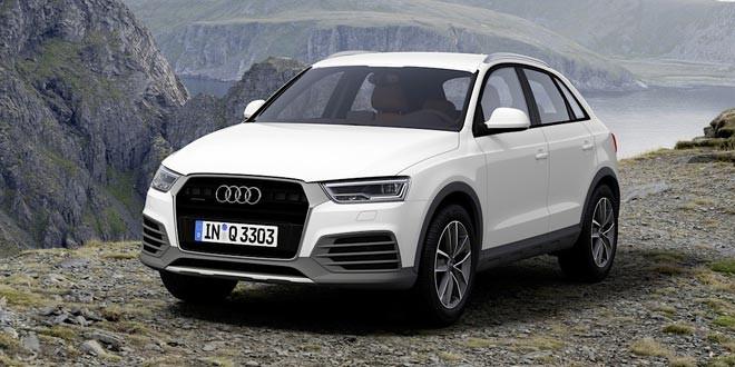 Компания Audi подготовила рестайлинг для Q3