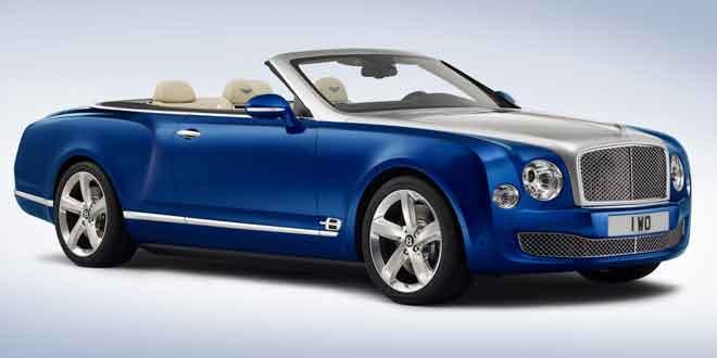 Следующий кабриолет после Bentley Azure показан как концепт