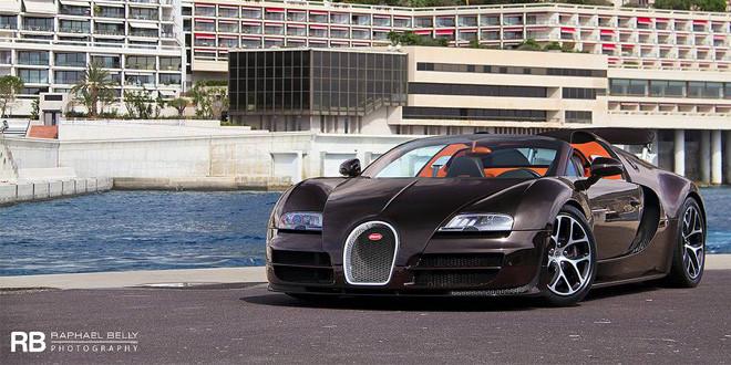 Фото дня: Bugatti Veyron Grand Sport Vitesse в Монако