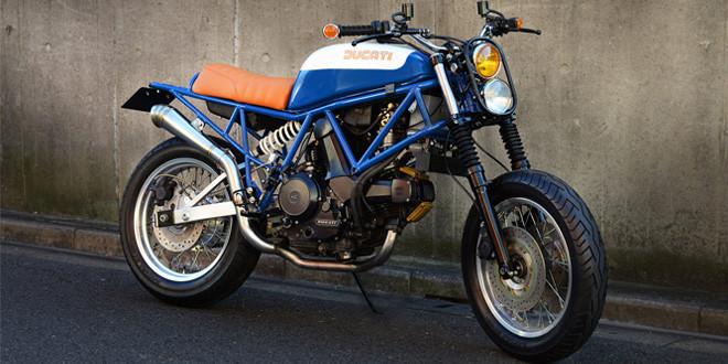 Кастом Ducati 750 Sport от японской мастерской Speedtractor