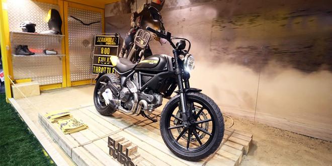 Ducati Scrambler признан самым красивым байком EICMA 2014