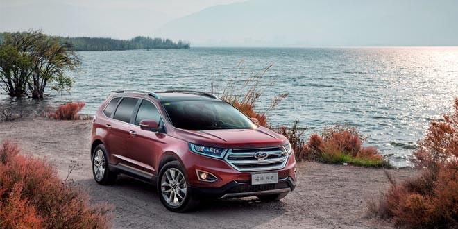 Подготовлен семиместный Ford Edge для Китая