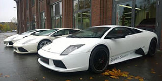 Три белых суперкара Lamborghini от Edo Competition