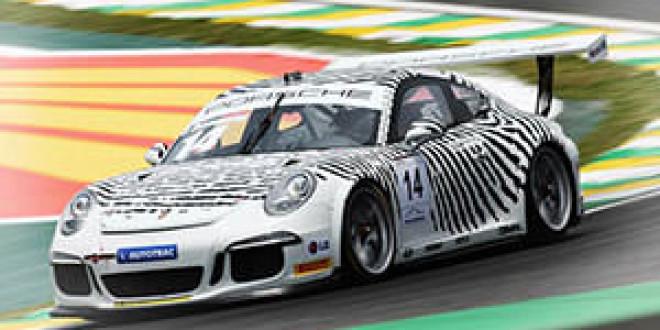 Porsche 911 GT3 Cup Design для Патрика Демпси
