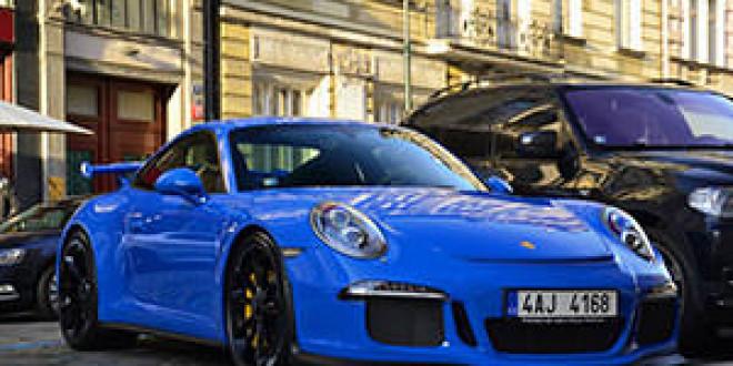 Porsche 991 GT3 подловили в Чехии