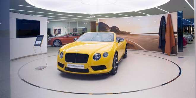 В Крю открылся салон Bentley CW1 House