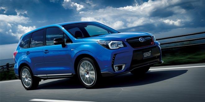 Кроссовер Subaru Forester обзавелся спортивной модификацией