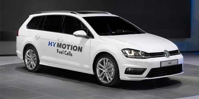 VW Golf HyMotion — первый водородомобиль на MQB