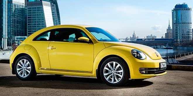 VW Beetle обновился на 2015 год