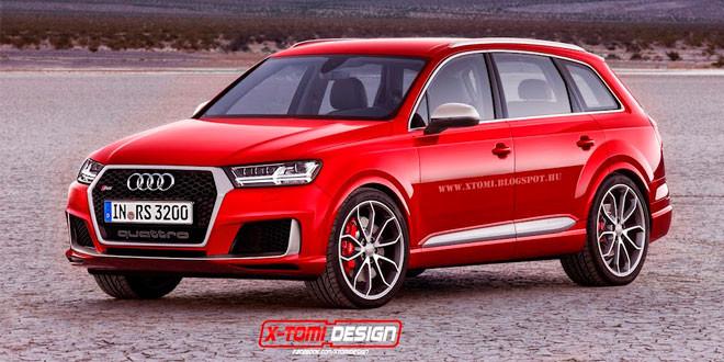 Рендер Audi RS Q7 от X-Tomi Design