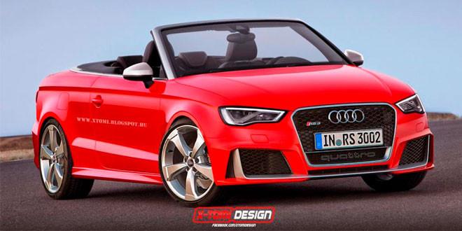 Рендеры Audi RS3 в разных кузовах от X-Tomi Design