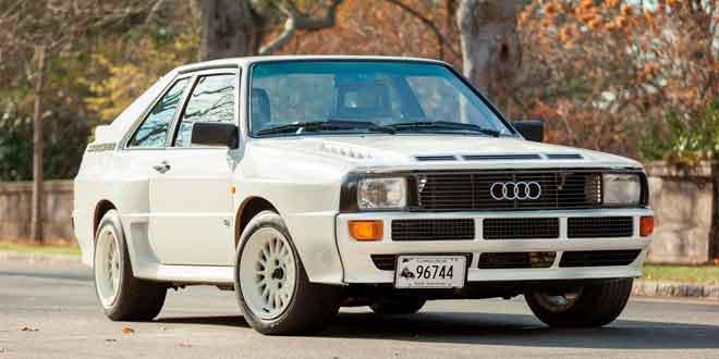 В Канаде продаётся особая Audi Sport quattro