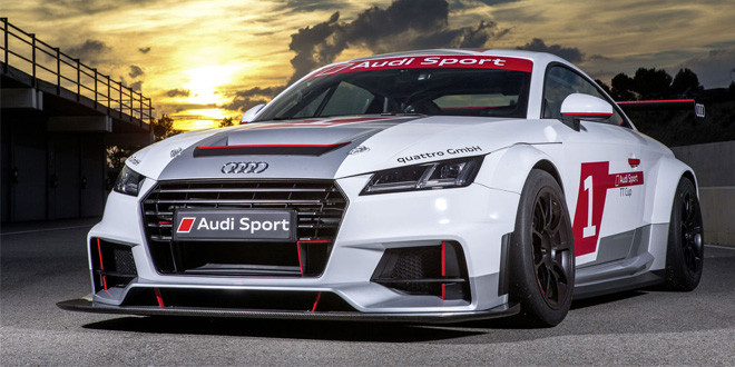 Отделение Audi Sport озвучило календарь новой моно-серии