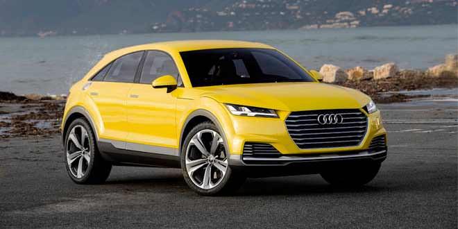 Audi выпустит кроссовер на базе концепта TT Offroad