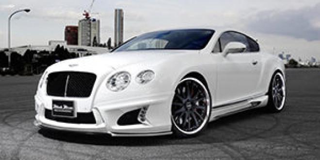 Bentley Continental GT в боди-ките от WALD International