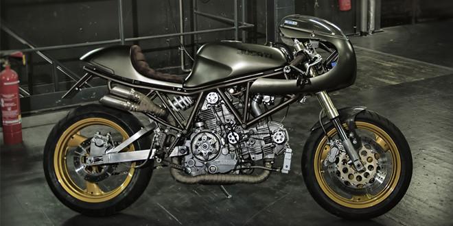 Мастерская SoulMoto построила кафе рейсер Ducati El Chupakabra
