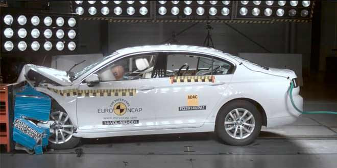 Volkswagen Passat B8 успешно прошёл краш-тесты Euro NCAP
