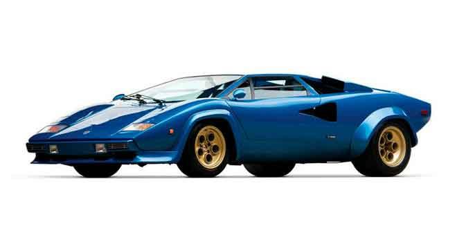 С аукциона продадут редкий Lamborghini Countach