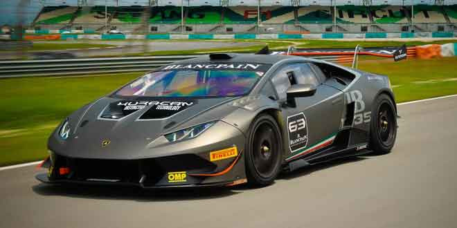 Озвучен календарь дебютного кубка Lamborghini Huracan Super Trofeo