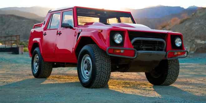 Lamborghini LM002 продадут с аукциона