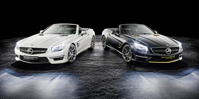 Mercedes отмечает успехи в «Формуле-1» особыми родстерами