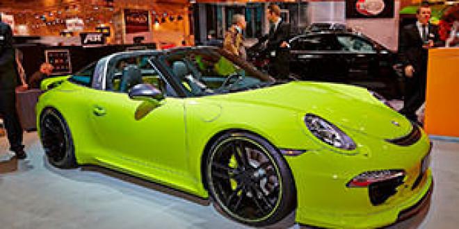 Porsche 911 Targa в доводке TechArt показали в Эссене