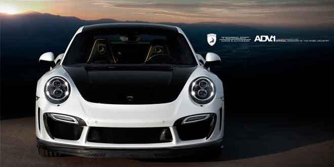 TopCar подготовил для Porsche 911 новый стайлинг-кит