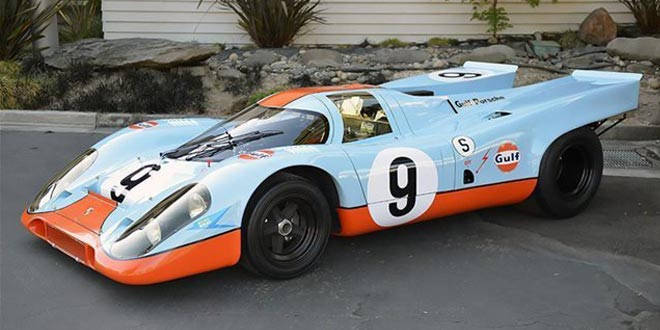 Продан редчайший Porsche 917K 1969 года выпуска