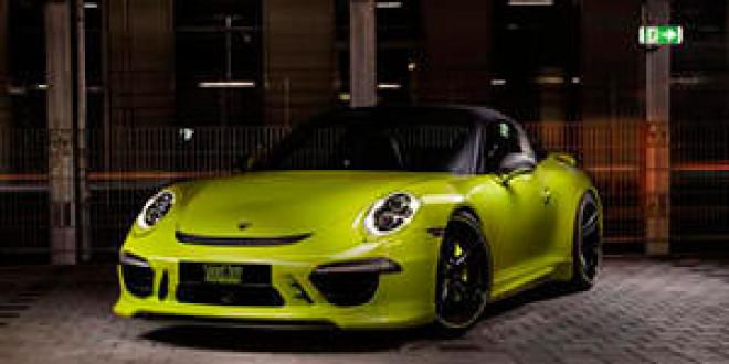 Официальная информация о Porsche 911 Targa от TechArt
