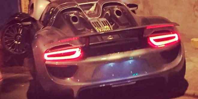 В Шанхае разбили еще один Porsche 918 Spyder