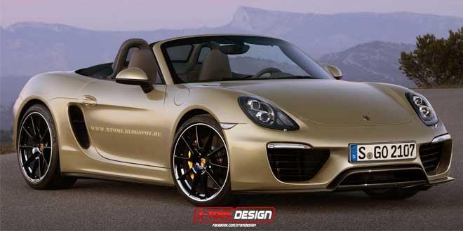 Фейслифт Porsche Boxster от X-Tomi Design