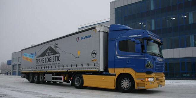 В Украине испытали грузовик Scania с Евро 6