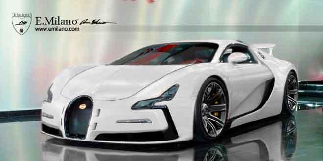 Первый рендер преемника Bugatti Veyron