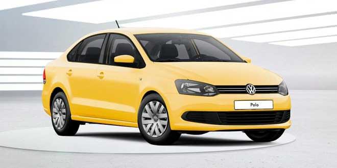 Цветовая гамма VW Polo Sedan дополнена новыми оттенками
