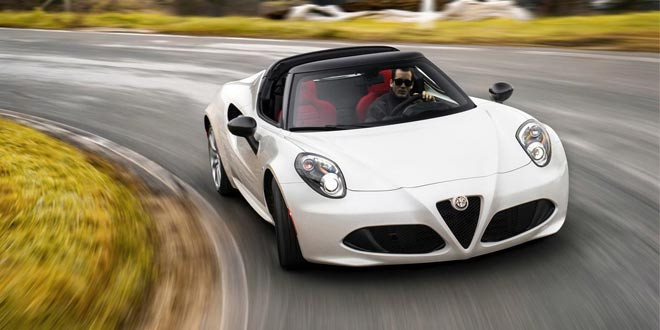 Прототип Alfa Romeo 4C Spider перешел в серию