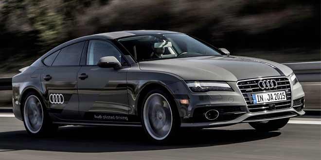 Беспилотный прототип Audi A7 преодолел расстояние в 900 км