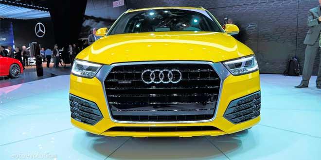 «Живая» премьера рестайлинговой Audi Q3