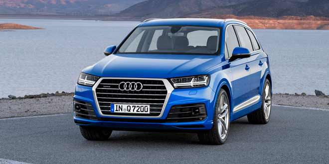 Большая премьера Audi Q7 в Детройте