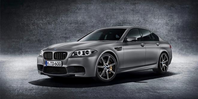 Последнюю BMW M5 30 Jahre Edition продали за 700 000 долл.