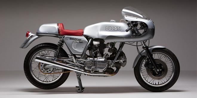 Возвращенный к жизни экземпляр Ducati 860GT