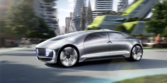 Mercedes-Benz F 015 Luxury in Motion прибыл из 2030 года